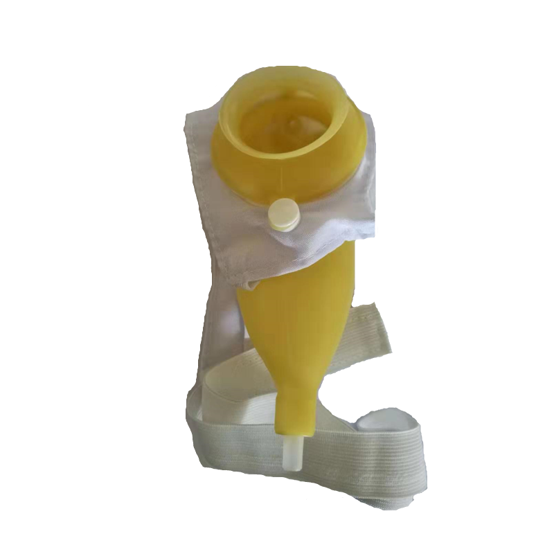 1 pc/ box men incontinence external urinary device urine collector Silicone urine bag urinal for aged home care