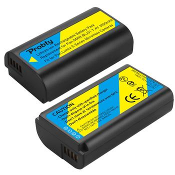 2PCS DMW-BLJ31 DMW BLJ31 LG Li-ion cells Battery for Panasonic LUMIX S1, S1R ,S1H, LUMIX S Series Mirrorless Cameras