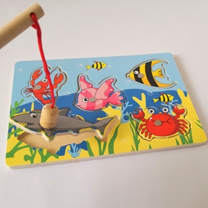 Small Number Wooden Fishing Bo