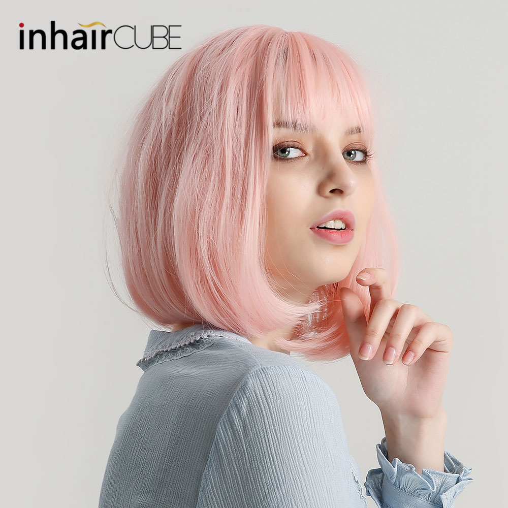 Inhaircube Straight Bob Wig 12