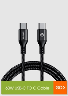 60W USB-C TO C Cable