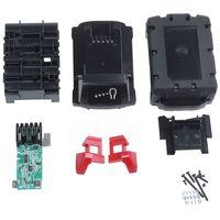 M18b li-ion bateria de plástico caso de carregamento placa de circuito de proteção para milwaukee 18v m18 48-11-1815 3ah 4ah 5ah pcb placa escudo