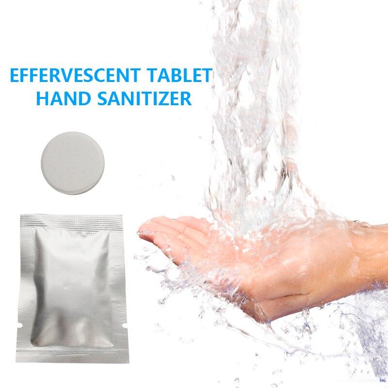 10pcs Hand Sanitizer Effervescent Foam Antibacterial Disinfectant Hand Soaps Effervescent Flavor Aloe Vera TSLM2