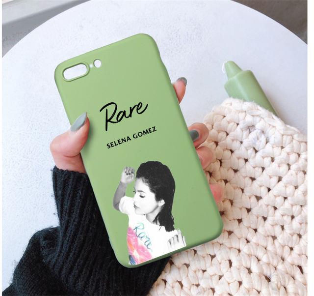 RARE SELENA GOMEZ IPHONE CASE (9 VARIAN)