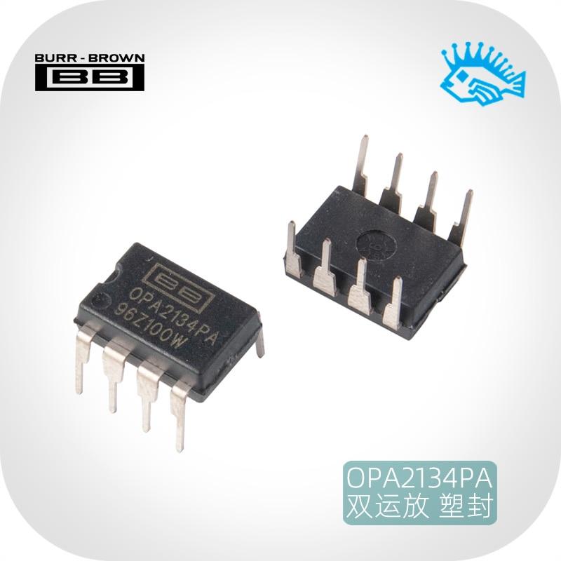 1 шт. новый оригинальный импортный TI BB OPA2134PA DIP8 прямой штекер dual op amp