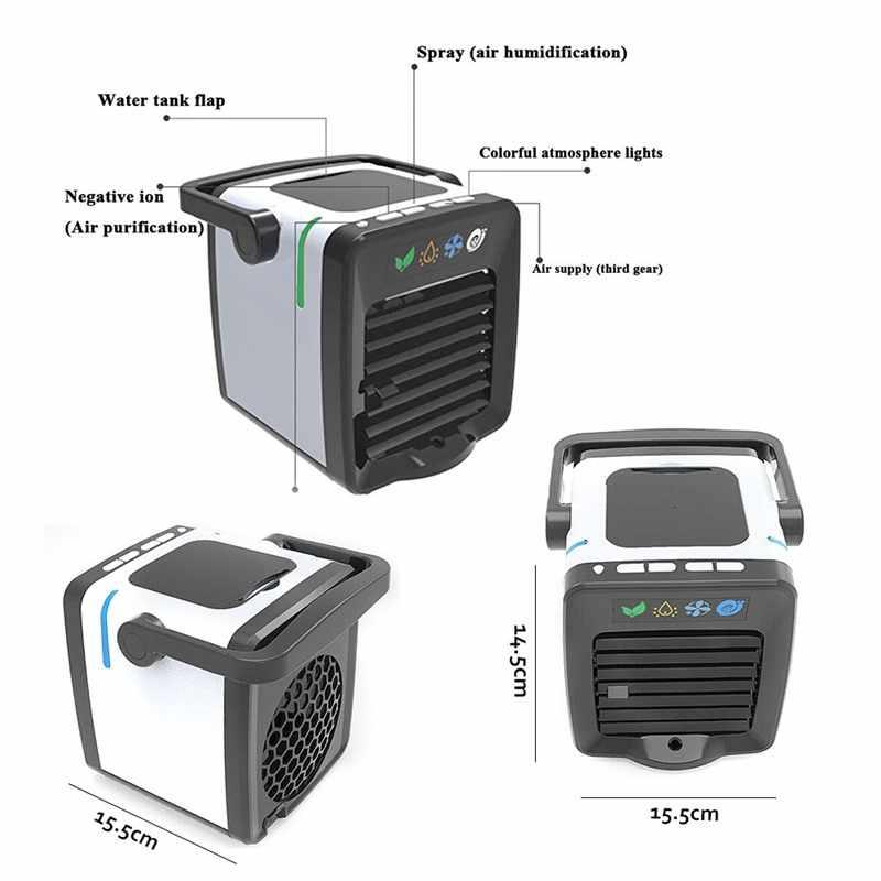 Máy Tính Để Bàn Mini Lạnh Máy Tạo Độ Ẩm Không Khí Bắc Cực Điều Hòa Không Khí Đơn Vị Quạt Tiếng Ồn Thấp Nhà Mát Lạnh Hệ Thống Làm Mát