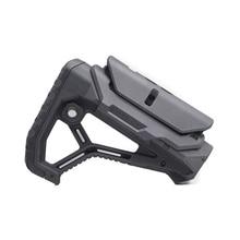 Tactical Nylon Regolabile Esteso Magazzino per Pistole ad Aria CS Sport Paintball Airsoft Tactical BD556 Gel Blaster Ricevitore Cambio