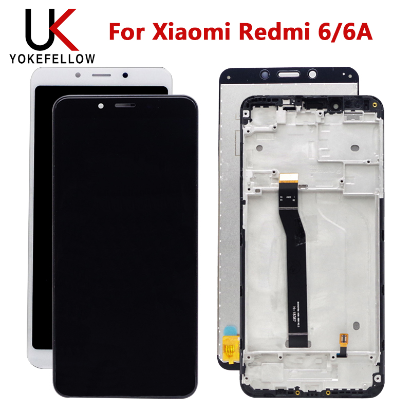 LCD Display WIth Touch Screen For Xiaomi Redmi 6 6A LCD Display Screen Assembly