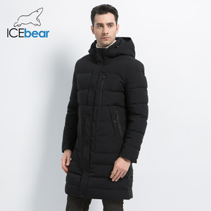 Image 3 - ICEbear 2019 новая зимняя куртка ветрозащитная мужская хлопковая модная мужская парка повседневные мужские пальто Высокое качество Мужское пальто MWD18826I