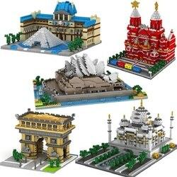 Znane marki klocki world construction series edycja kolekcjonerska prezenty dla dzieci prezenty świąteczne