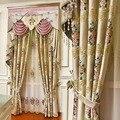 Европейский стиль новые рельефные высококачественные вертикальные шторы с вышивкой для гостиной столовой спальни.