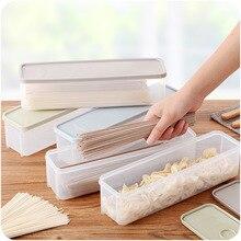 Japanese Sealed Noodles Crisper Plastic Noodles Spaghetti Box Kitchen Storage Box