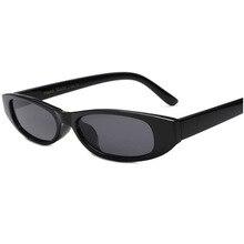 Vintage Rectangle Sunglasses Women Cat Eye Designer Ladies S