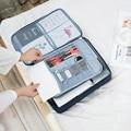 Водонепроницаемая мужская сумка для хранения документов  мужской офисный деловой портфель для путешествий  органайзер для Ipad  вместительн...