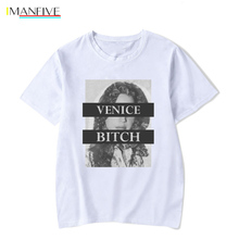 White cotton Lana Del Rey T Shirt /men Summer Top rock Tshirt Camiseta hombre aesthetic clothes vogue punk Tee homme