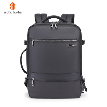 ARCTIC HUNTER 2019 USB 15.6inch Waterproof Laptop Men's Bag Fashion Sport Travel Business Notebook Male Backpack Boys Schoolbag