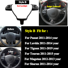 Car Steering Wheel Remote Wireless Control Button for Jetta Golf Polo Passat Multi-function Controller Switch hubs Universal