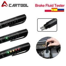 Testeur de liquide de frein de voiture, détecteur de voiture, stylo 5 LED, outil de test automobile, outil de Diagnostic, testeur de frein, 2020