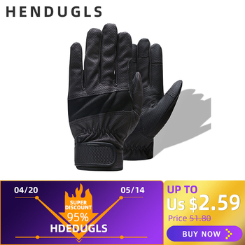 HENDUGLS Glove Brand Safety Cycling Gloves Pigskin Pu Nitrile Gloves High Motion Quality Protective 1908
