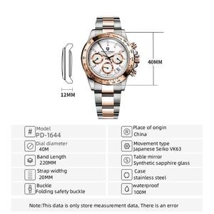 Image 2 - PAGANI DESIGN montre bracelet pour hommes, marque supérieure de luxe, qualité militaire, étanche, Quartz pour affaires