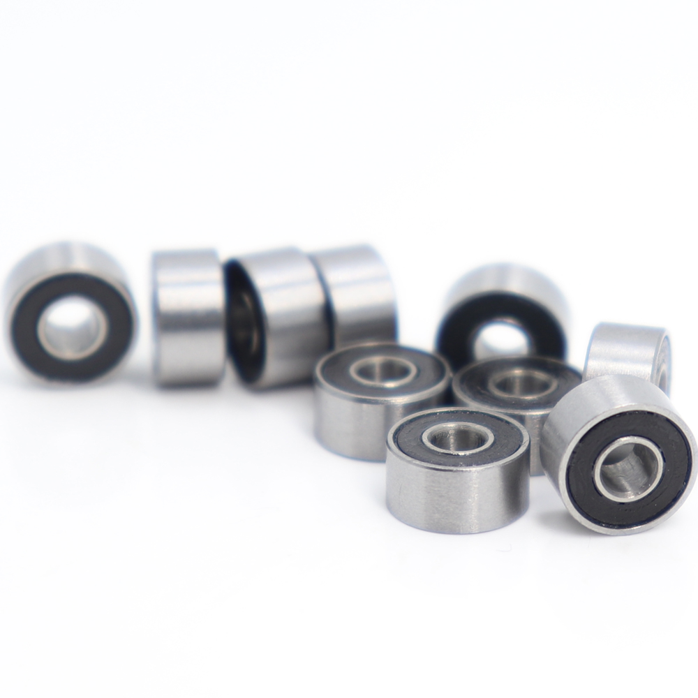 S693zz S693 3x8x4 mm Stainless Steel 440c Ball Bearing Bearings 5pcs