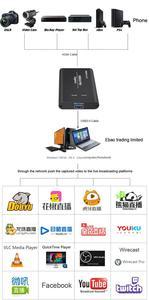 Image 5 - מלא HD USB 3.0 HDMI משחק וידאו לכידת הקלטת כרטיס עבור MAC Win10 פייסבוק Youtube OBS עווית פגישה חיצונית לחיות הזרמת