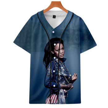 2019 Singer Rihanna jackets Kpop Fashion jacket new Sailor moon cool print long sleeve Rihanna baseball jacket for women фото