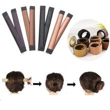 8 Colors DIY Hair Braiders Hair Donuts Bun Headband Ball Swe