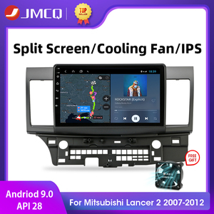 Android 2G+32G Car Radio For Mitsubishi Lancer 2007-2012 10 Inch 4G NET+WiFi RDS DSP Video Audio Multimedia 2 Din Car Dvd Player(China)