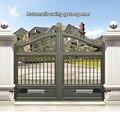 Автоматический набор для открывания ворот средняя пошлина двойной ворот для двойных распашных ворот до 16 футов или 800 фунтов  двигатель вор...