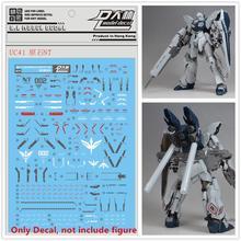 D.L คุณภาพสูงรูปลอกน้ำสำหรับ Bandai MG 1/100 MSN 06S Sinanju Stein NT Ver Gundam DL153