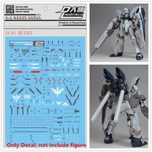 Pasta de agua de alta calidad, calcomanía D.L para Bandai MG 1/100 MSN 06S Sinanju Stein NT Ver Gundam DL153
