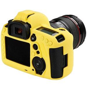 Image 2 - עבור Canon 5D3 5 5DIII 5D4 5DIV 6D2 6DII 80D 90D 1DX 1DX2 1DXII רך סיליקון מצלמה גוף מקרה עור ליצ י מצלמה מגן כיסוי