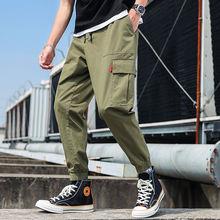 Шаровары anszktn мужские в стиле хип хоп повседневные брюки