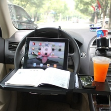Multifunction Vehicle Mounted Computer Desk Folding Car Notebook Bracket