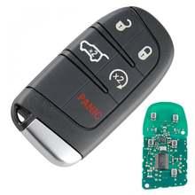 1 шт 433 МГц 5 кнопок дистанционный ключ брелок от машины замена
