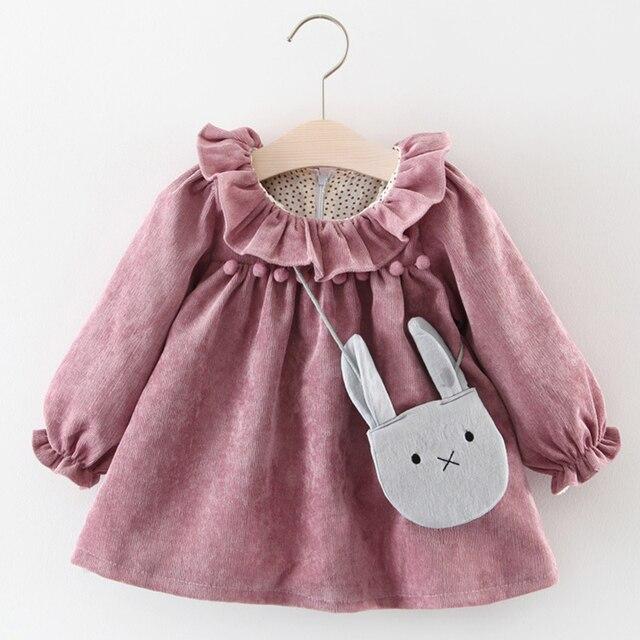 Autumn Melario Newborn Baby Girl Dress