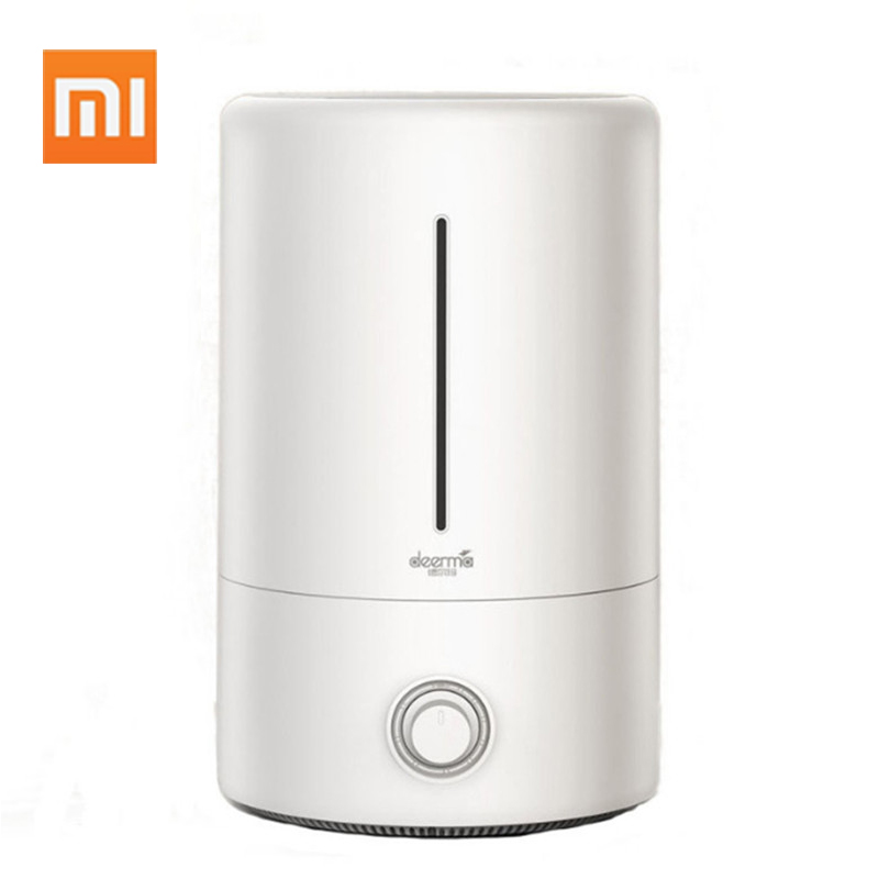 Image 1 - Original Xiaomi Home Deerma 5L Large Capacity Household Mute Air Humidifier Ultrasonic Air Humidifier Purifying Humidifier Aroma-in Humidifiers from Home Appliances