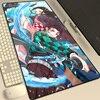 Anime Speed PC Mousepad Demon Slayer Gaming Mats Mouse Pad 900x400 Desk Mat Gamer Mice Mat Mousepad Gamer Accessories XXL Carpet