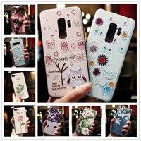 Per Samsung Galaxy Xcover 4S S Duos S7562 Caso 3D Fiore Rilievo Del Silicone Copertura Del Telefono Per Samsung NOTA 4 3 Pro A8 stella A9 J7 Max