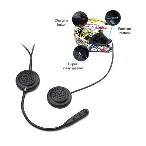 capacete wireless 500m duplo conversacao fone de ouvido bluetooth