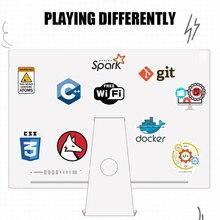 «Сделай сам» ноутбук Стикеры, 50 шт в наборе, программирования Технология программного обеспечения данные наклейки для компьютера для Geek для портативного компьютера телефона для PS4