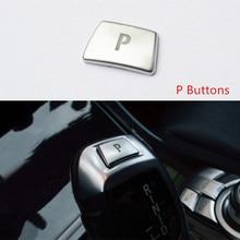 Автомобильный стиль, переключатель передач, р Парковая кнопка, декоративная крышка, наклейки для BMW X5 X6 E70 E71 F15 F16 X3 X4 F26 F25, автомобильные аксессуары
