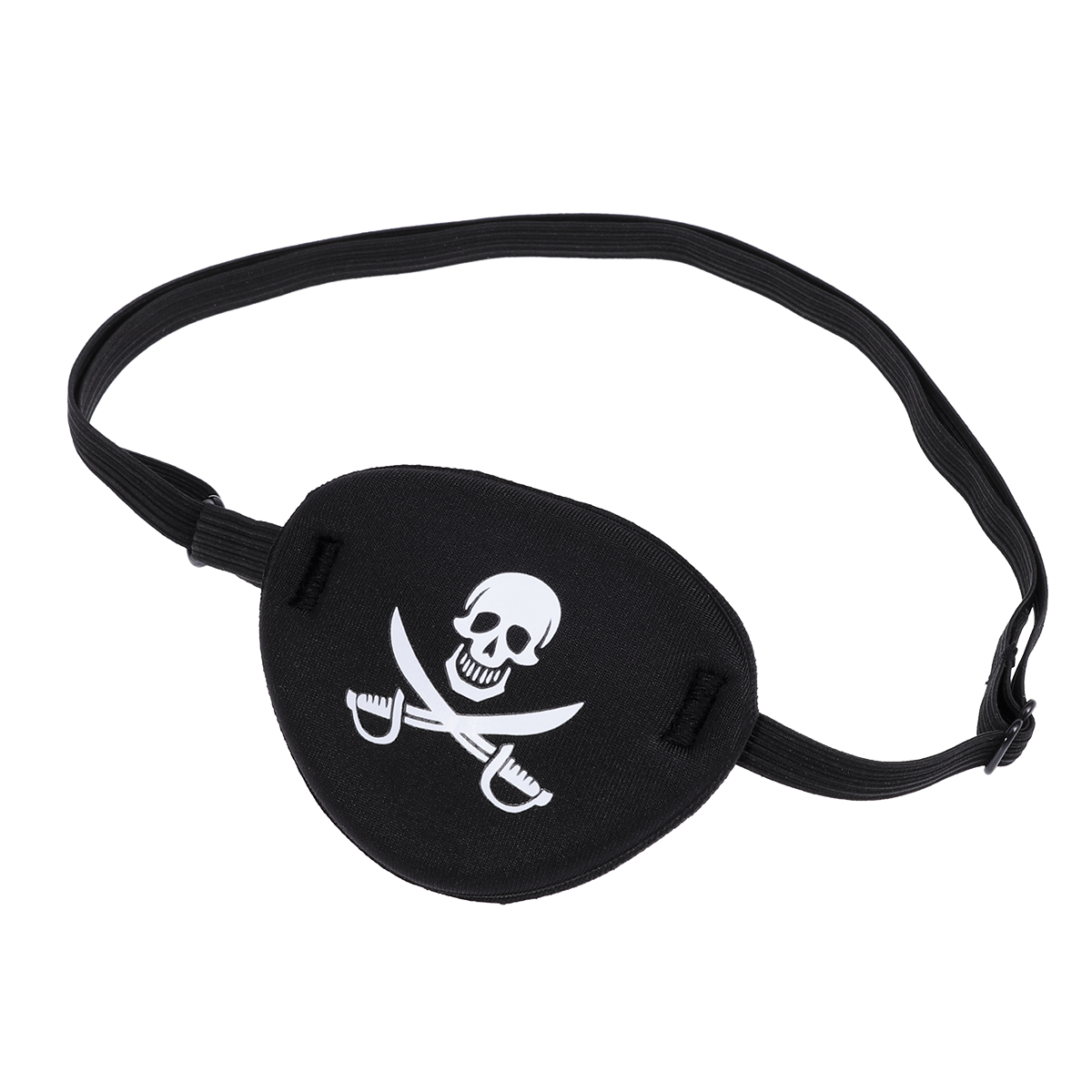 WINOMO Pirate Schädel Kinder Kinder Augenklappe Maske Für Faul Auge Patch Cosplay Party Pirate Eye Patch Kinder Party geburtstag Schwarz