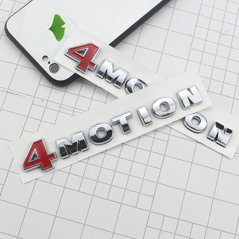 Car stickers Tail label car logo, modified decoration For Volkswagen Tiguan 4MOTION sticker