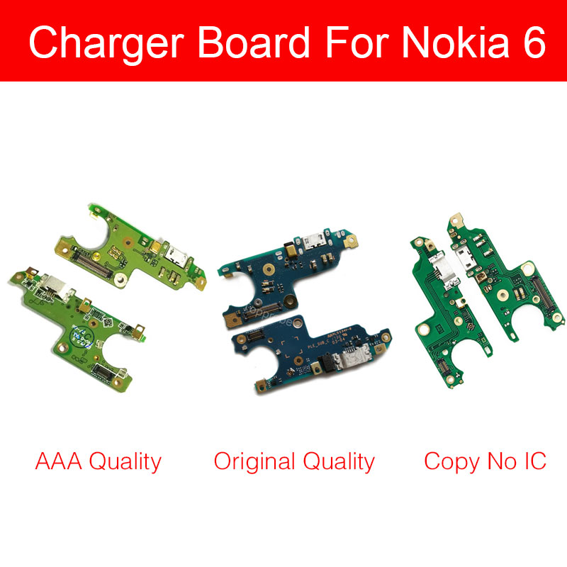 Usb Charger Board For Nokia 6 TA-1000 TA-1003 TA-1025 TA-1039 USB Charging Jack Port Connector Board Flex Cable Phone Repair