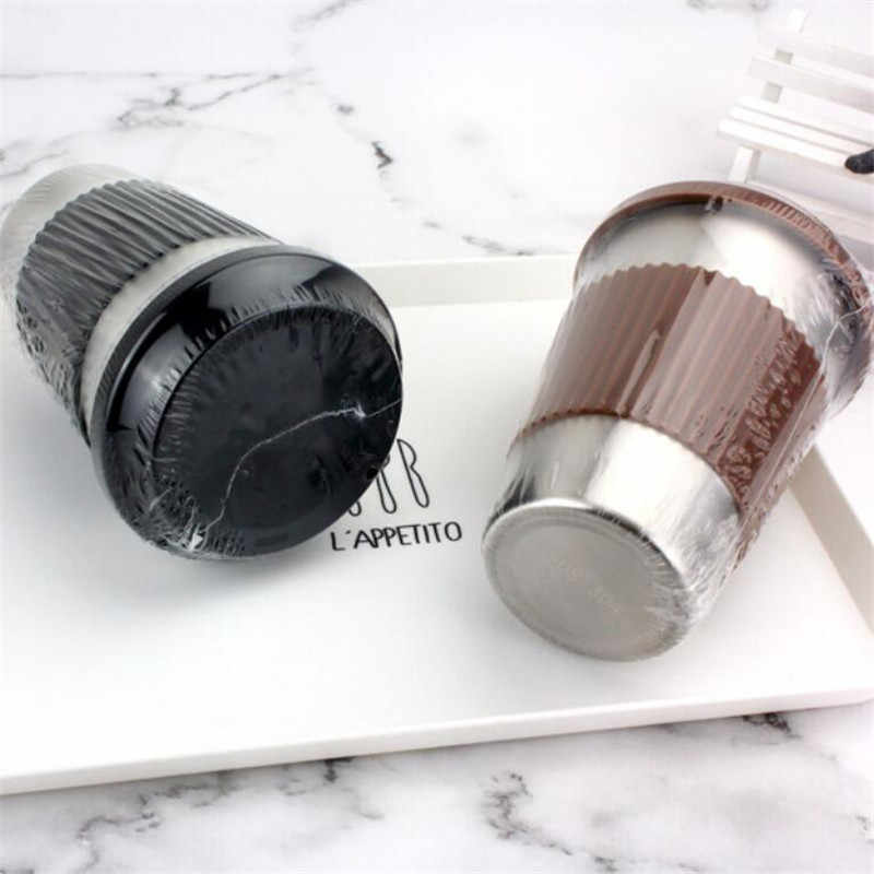 2019 novo aço inoxidável copo thermo caneca de café viagem com tampa garrafa de água do carro frascos vácuo para o presente