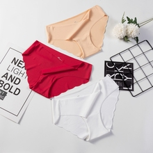 3 Pcs Seamless Panties For Woman Underwear Sexy Briefs Solid Female Underpants Hot Sale lingerie For Ladies Panty