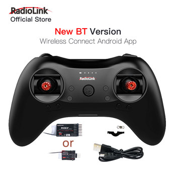Radiolink T8S 8CH Radio Controller Transmitter 2.4G and R8EF or R8FM Receiver Handle Gamepad for Fixed Wing FPV Drone Airplane 1