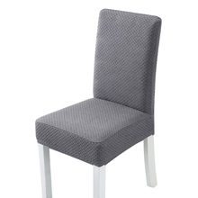Cotton Chair Cover 1 PCS Super Thick Spandex Dining Stretch One Piece Universal Chair Covers Machine